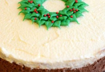 Gâteau « Trois chocolat »: l'étape de recette par étape