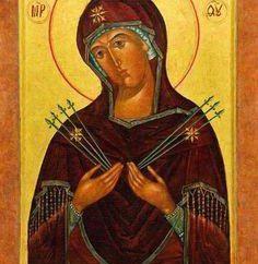 La preghiera della Madonna dei Sette Frecce solitudine