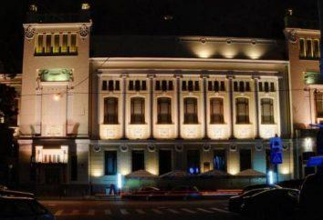 Lenkom Teatro: esquema del sitio