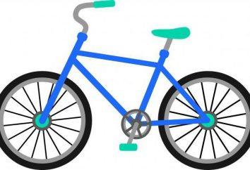 Wielkość tabeli rower wzrostu