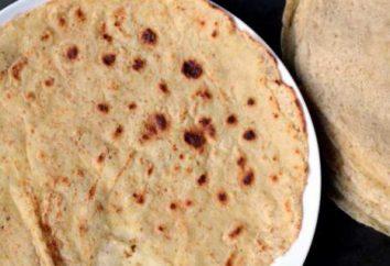 Panqueques de harina de maíz: una receta con una foto