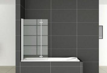 Rideaux pour la salle de bain coulissante – une solution intéressante