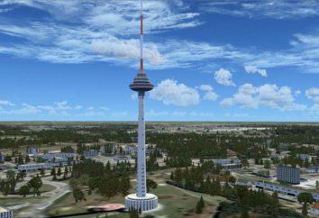Vilnius TV Tower – najwyższy budynek na Litwie