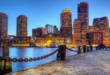 Boston – c'est … Où se trouve la ville de Boston?