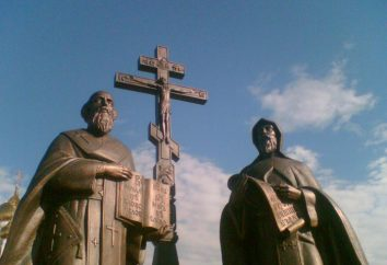 Os criadores do alfabeto eslavo. Quem criou o alfabeto eslavo no século 9?