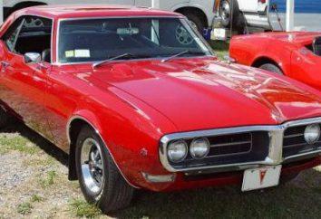 """Pontiac Firebird – """"pájaro de fuego"""" de la compañía """"General Motors"""""""