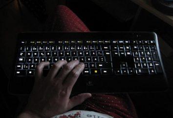 Podświetlane klawisze klawiatury: jasne rozwiązanie dla komputera