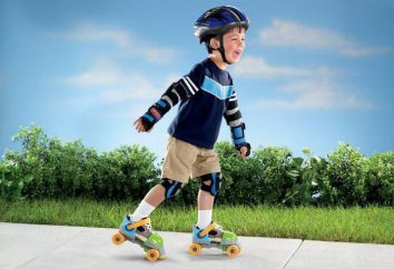 Escolhendo patins das crianças: tipos e tamanhos