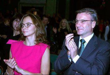 Gref Jan, moglie del capo di Sberbank of Russia Germana Oskarovicha Grefa: biografia, la vita personale