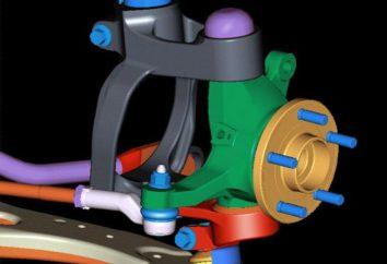 Zawieszenie przednie VAZ-2107: wymiana, naprawa, strojenie, schematu, a cena