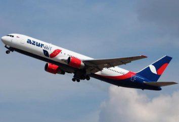 companhia charter russo Azur Air. Comentários de clientes