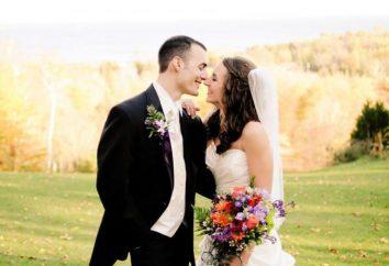 Wünsche der Braut und des Bräutigams Text, interessante Optionen
