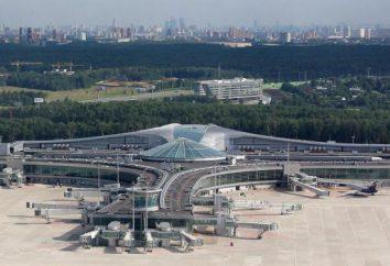 Indirizzo di Sheremetyevo. Terminali F, D, C