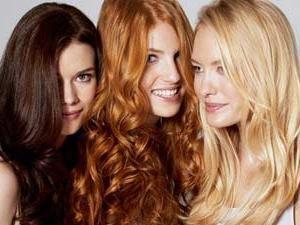 E você tem uma cor de cabelo lindo?