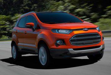 Ford EcoSport: dane techniczne. Ford EcoSport 2014