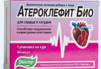 """""""Ateroklefit Bio"""": Opinie lekarzy i instrukcji"""