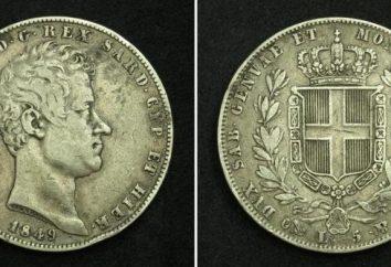 moedas modernas e antigas Itália
