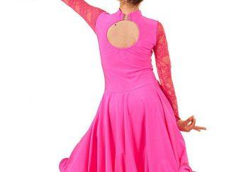 Comment choisir les robes droite de balle pour danser pour les filles