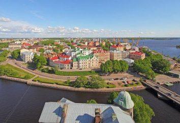 L'histoire de Vyborg: les fondations, les sites historiques, l'importance politique et militaire