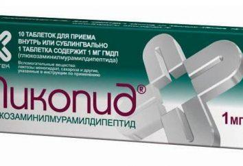 "Tabletki ""Likopid"": analogi i opinię na temat ich"