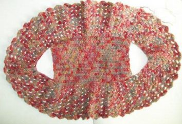 Jak na drutach bolero szydełka: program