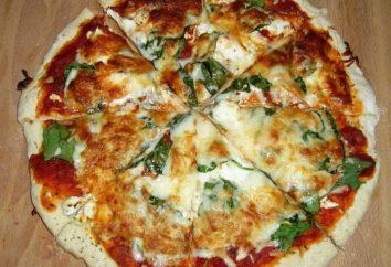 Pizza dans le Multivarié: recettes de cuisine