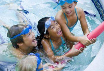 Como ensinar uma criança a nadar?