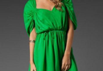 Perché nel guardaroba di un abito verde?