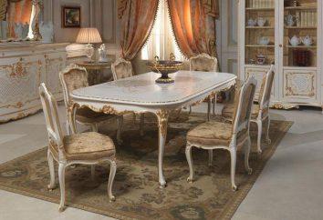 Piękny salon w różnych stylach