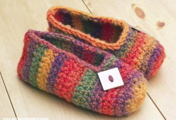 Como fazer crochetar botas: para iniciantes um esquema simples