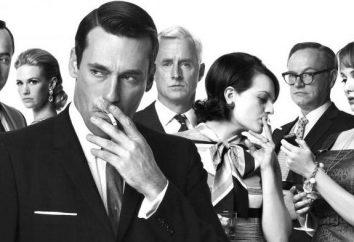 """serie de televisión """"Mad Men"""": actores, papeles, la trama"""