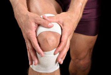 ginocchia gonfie: cosa fare?
