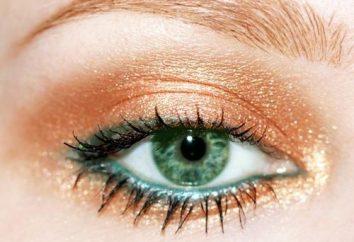 Maquillaje para ojos verdes y cabello rubio: seleccionamos los tonos correctos