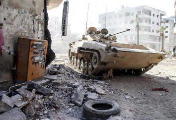 Il conflitto in Siria mano, tutto è cominciato