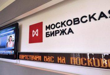 Marché des changes de la bourse de Moscou. Monnaie de négoce à la Bourse de Moscou
