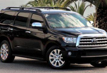 """""""Toyota Sequoia"""": dane techniczne. """"Toyota Sequoia"""": wiązka, ceny"""