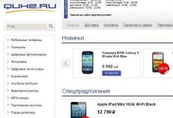 Loja Quke.ru online: comentários de clientes