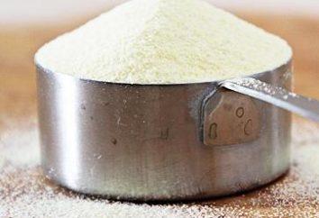 Wie Grieß zu kochen? Tipps, Beschreibung des Rezepts