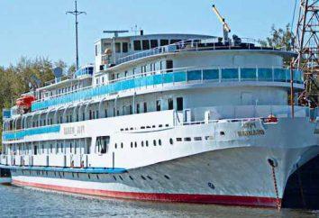 """O navio a motor """"Great Rus"""" é uma excelente opção para férias"""