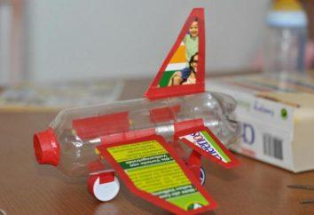 Comment faire un avion d'une bouteille en plastique avec ses mains