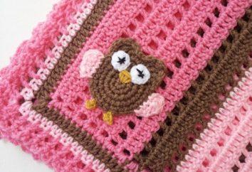 Tricô para uma agulha recheada de crochê e tricô (com descrição)