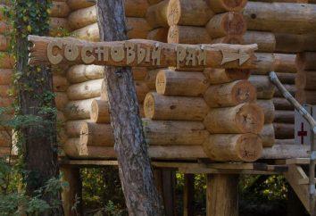 """""""Pine Paradise"""" (camping) – comentários. Camping """"Pine Paradise"""" encontros com mulheres russas (região de Krasnodar)"""