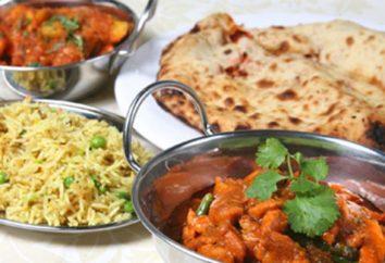 plats indiens: recettes avec photos