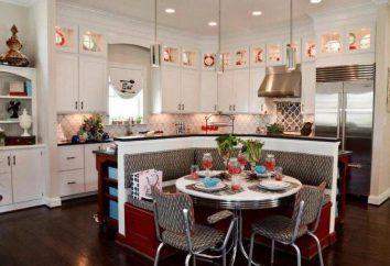 Choix d'une kitchenette: les dimensions peuvent être choisies pour une petite cuisine