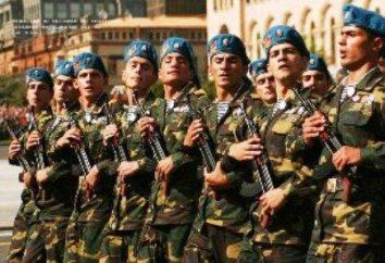 armée arménienne. Description et histoire de l'événement
