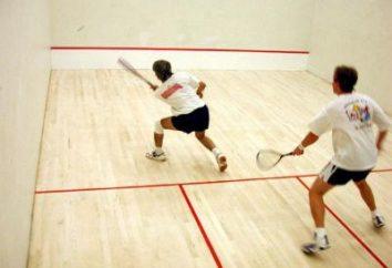 Squash – ce qu'il est: un sport ou les loisirs?