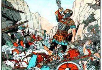 Caractéristiques de Roland et Charlemagne