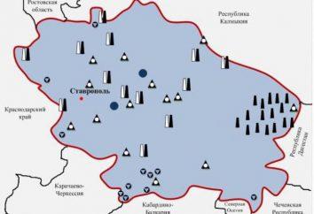 Territoire de Stavropol: minéraux. ressources naturelles