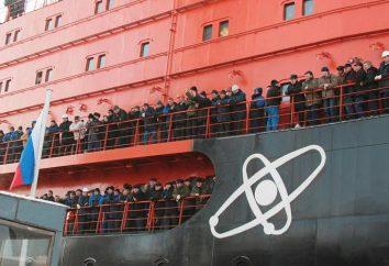 """O quebra-gelo atômico """"50 Anos da Vitória"""""""