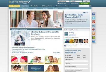 """Sito di incontri """"Tesoro"""". Recensione di dating online Darling.ru (eDarling)"""